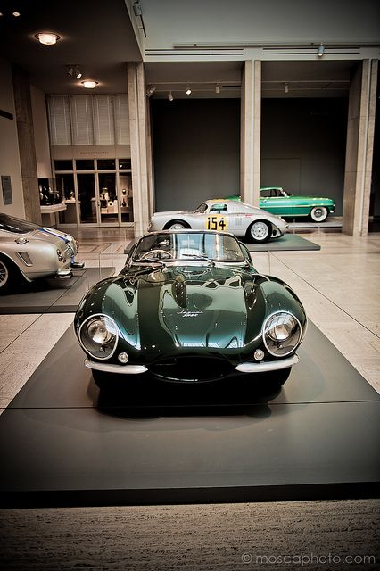 1957 Jaguar XK-SS Roadster, No. 713 by MoscaPhoto on Flickr.  My dad bought one of these from Sylvester Stalone - very cool car - had a choke & complicated to start, not sure I could even do it today.
