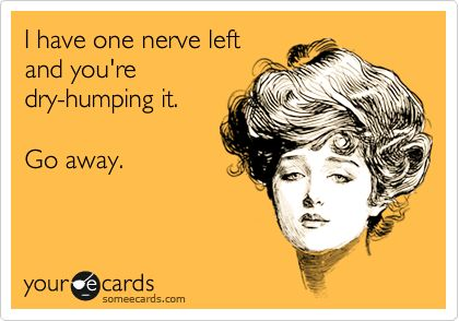 I sure wish I had the balls to send this to a couple of people....@Amanda Kulhanek  Yes you do. Just hit send.