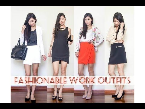 ? Fashionable Work Outfits - YouTube