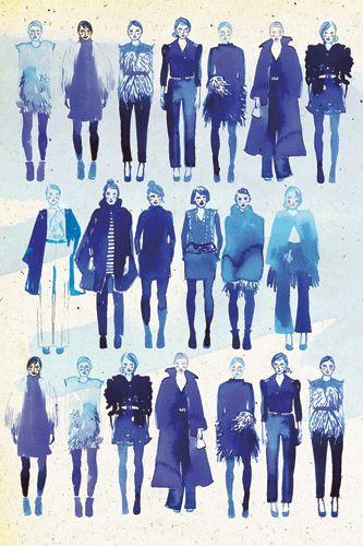 Gorgeous fashion illustrations