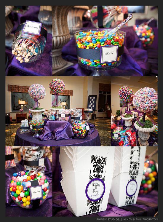 Candy Bar Idea :) Lollipop Trees