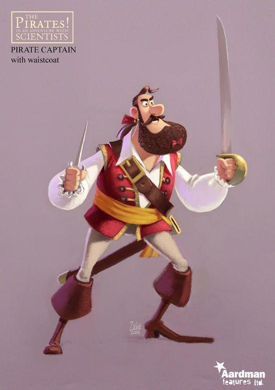 Pirate 3D Character #3D #3d character #3d char