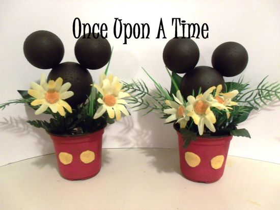2 Mickey Mouse Party Decorations