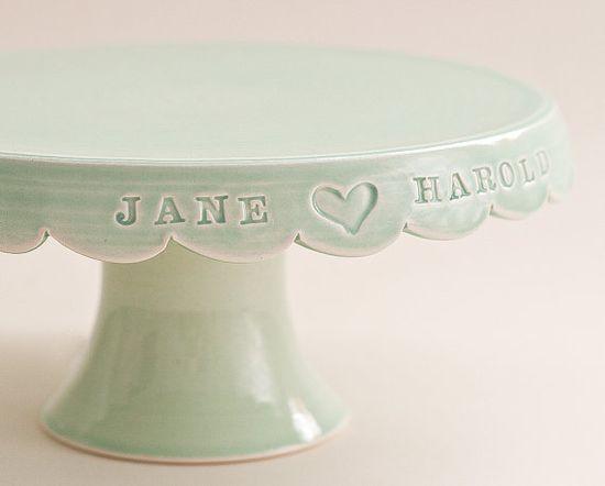 custom wedding cake stand ?
