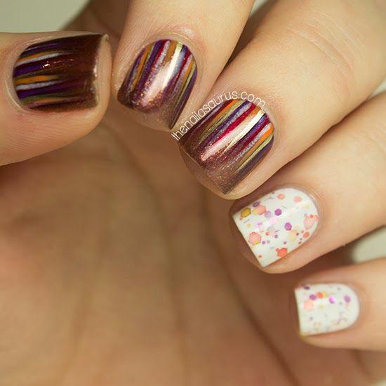 The Nailasaurus #nail #nails #nailart #manicure