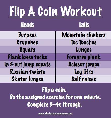 Flip A Coin Workout