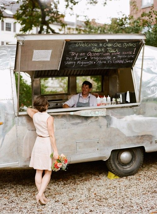 This airstream food truck is a beauty!