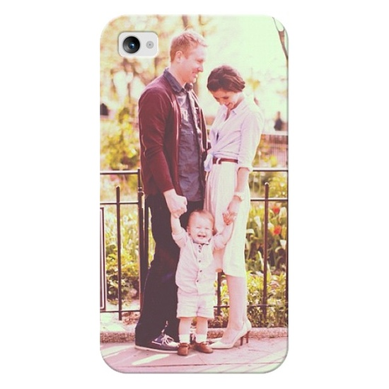 So cool...and a great gift idea! Personalize your iPhone case with a photo!
