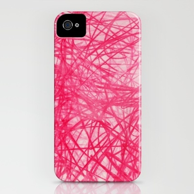 Ophelia Pink Iphone cover