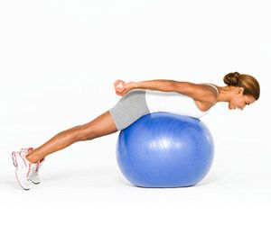 Toning Exercises for a Stability Ball