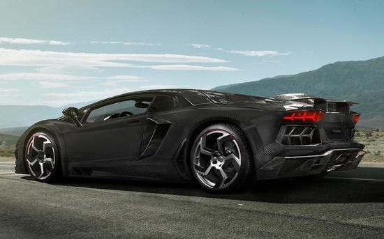 Mansory Carbonado: Lamborghini Aventador, now with more carbon fiber!