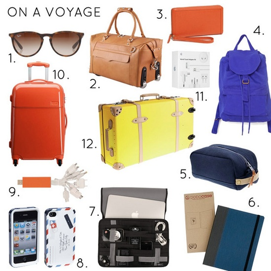 cases, bags & other travel essentials