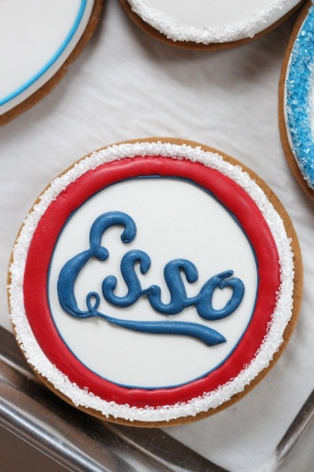 Esso Decorated Cookies