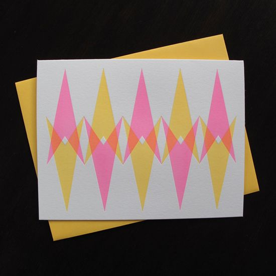 Handmade cards by Anemone Letterpress
