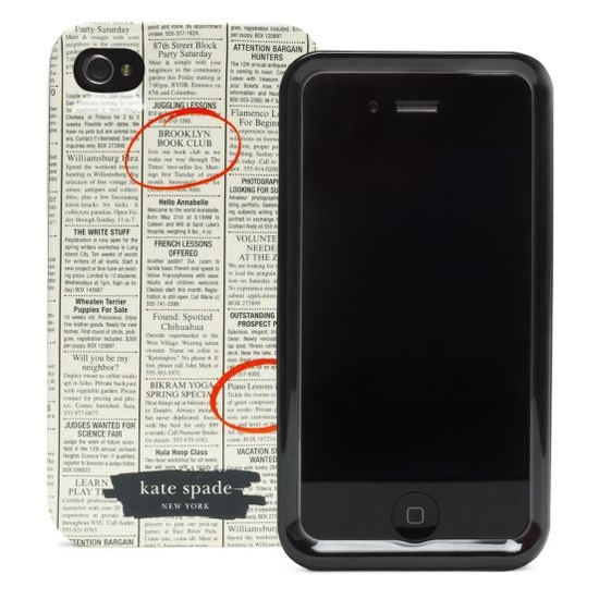 Kate Spade - iPhone 4 Case.