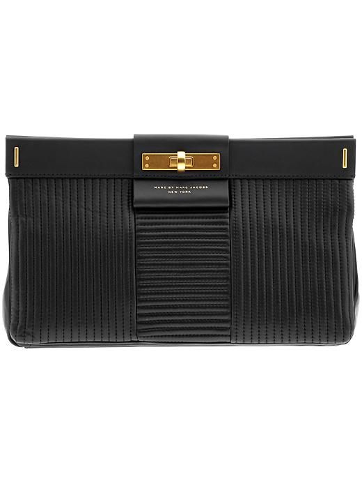 Marc by Marc Jacobs East End Quilted Lady Rei - Black