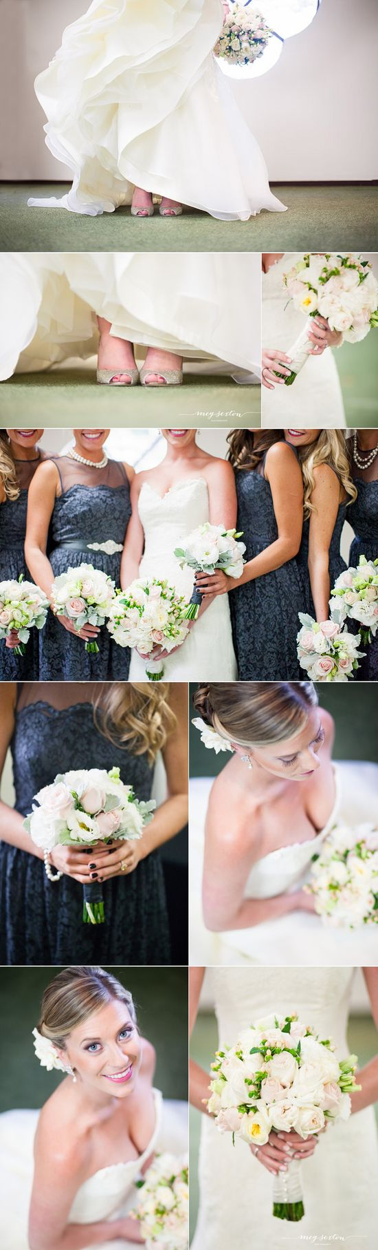 Wente winery wedding photos #navy