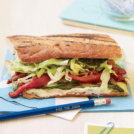 Grilled Vegetable Sandwiches // More Sandwiches: www.foodandwine.c... #foodandwine