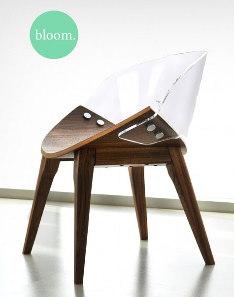 chair: designed by Paige Vanderkemp, a 2011 Industrial Design Graduate from Emily Carr University