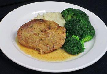 Honey Mustard Pork Chop: Aurora Health Care