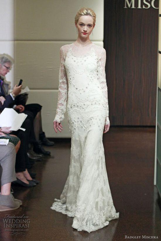 Badgley Mischka Bridal Fall 2013 Wedding Dresses