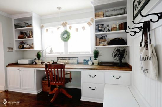 Miss Mustard Seed's home office