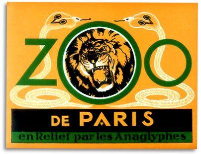 #Paris #Zoo #logo #graphics #design