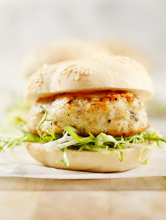 Turkey Feta Burger by zestycook #Turkey #Burger