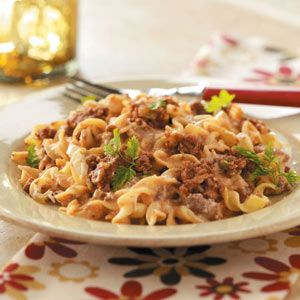 Beef Noodle Casserole - only 395 Calroies per Serving