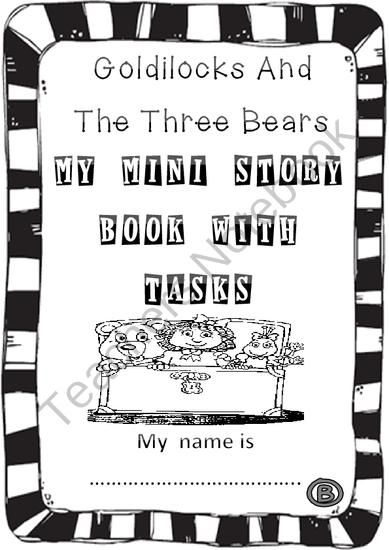 Guided Reading -Goldilocks and The Three Bears - Literacy fun from Hugs in! on TeachersNotebook.com (18 pages)  - This literature mini story book is based on the traditional story of Goldilocks and the three bears. It is focused to fix different language contents like: adjectives degrees, cardinal numbers and specific vocabulary which is underlined for emphasis.