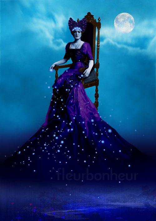 """Night Spilling Stars,"" by Fleur Bonheur on etsy"