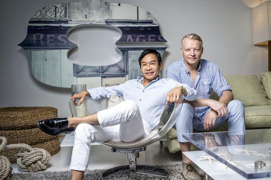 George Yabu and Glenn Pushelberg, Interior Designers