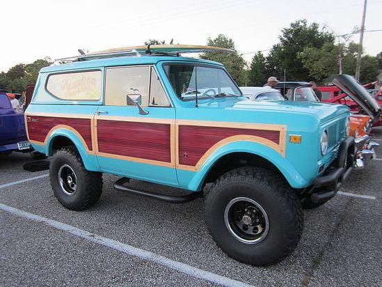 1973 International Scout II.....Keep it classy!!!