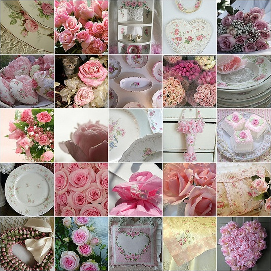 Pink shabby chic - love it!