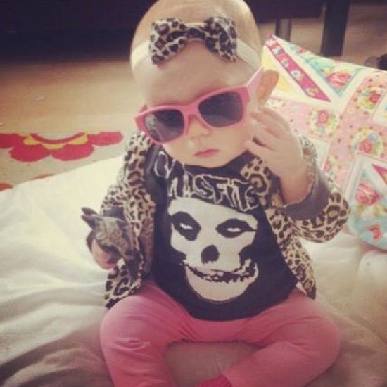 Punk Rock Baby Girl