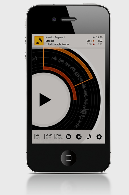 robick audio player