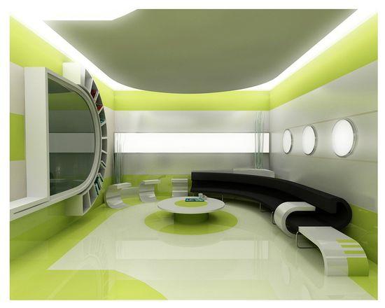 Interior Design greens
