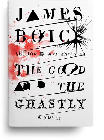 Paul Sahre, The Good and the Ghastly book cover (2011)
