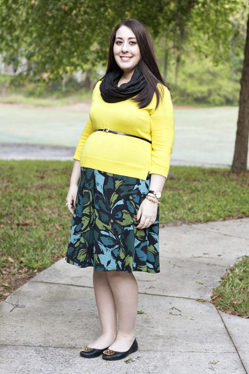 Maternity work outfit