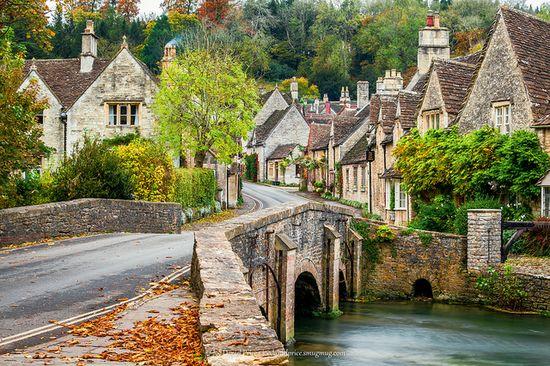 Bridge at Castle Combe, Wiltshire, England