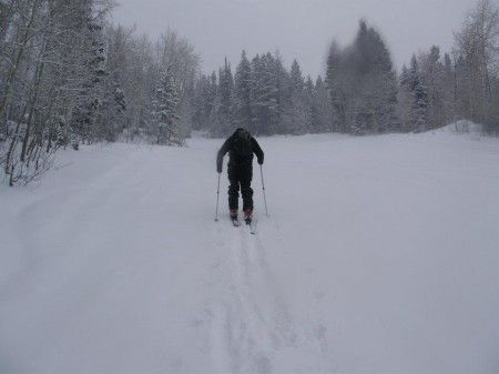 Winter exercise for Hikers