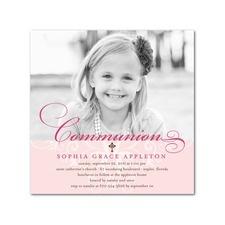 Invite for First Communion