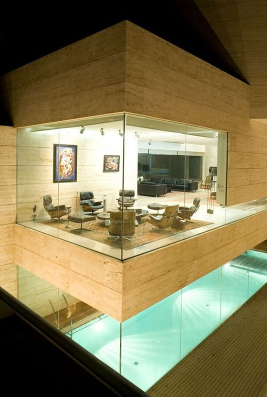 Luxury House Design by Spanish Architect - Meeting