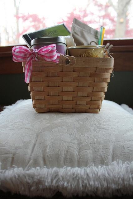 Breast Cancer Gift Basket, via Flickr.