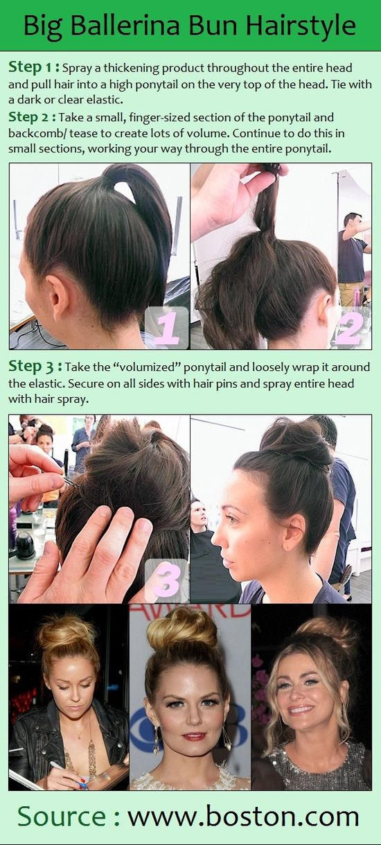 Big Ballerina Bun Hairstyle