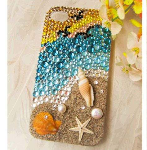 Handmade Sea Shell Case Custom Cover for Samsung Iphone