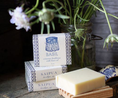 flowers + soap