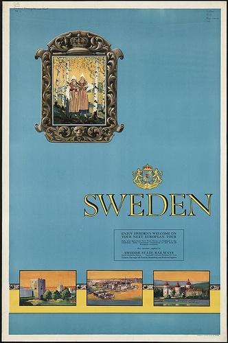 Sweden by Boston Public Library, via Flickr