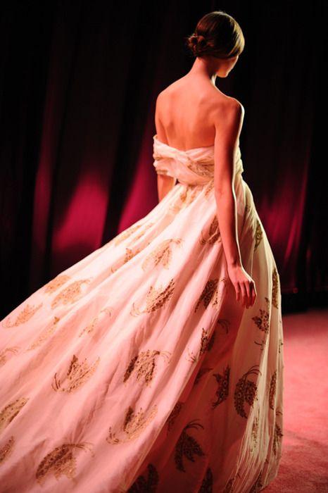 printed wedding dress!