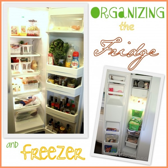How to organize the fridge and freezer -- Ask Anna
